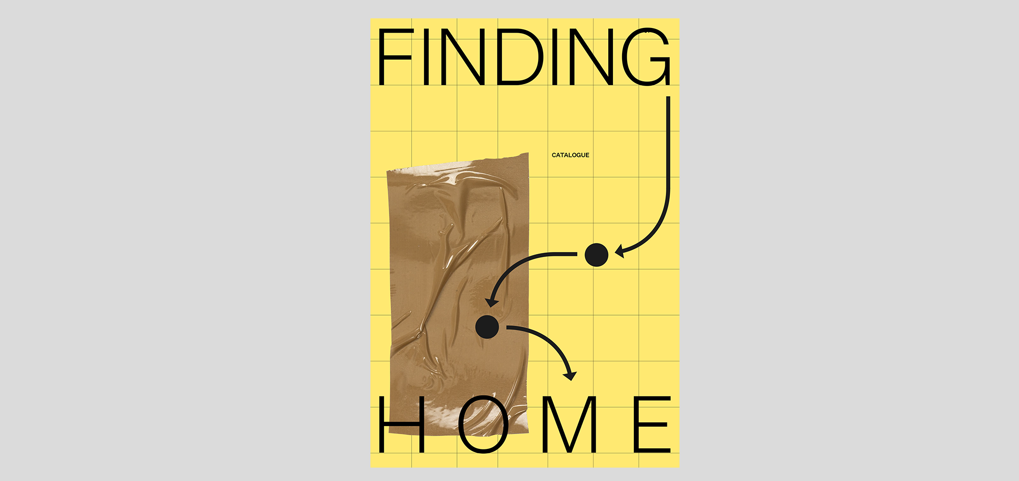 Cover of catalgoue: Finding Home